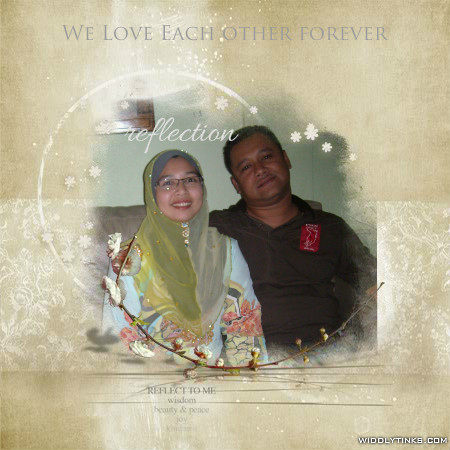 My Beloved Hubby & Me