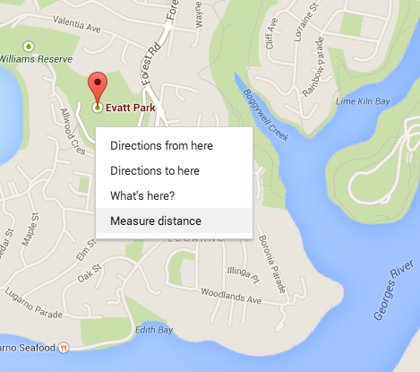 Distance Measurement In The New Google Maps - Map your distance