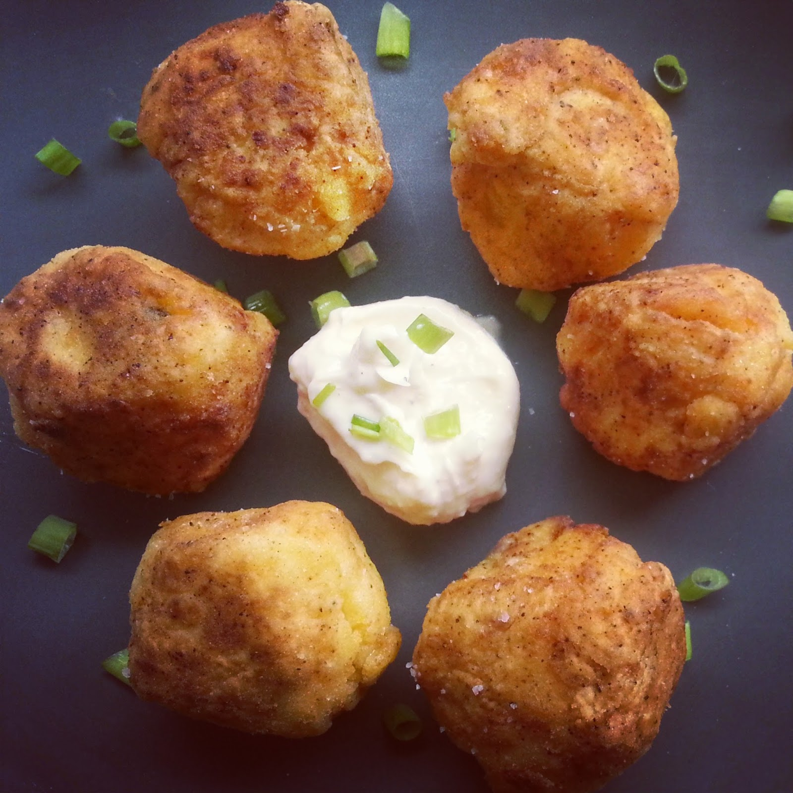 Stuffed With Love: Fried Chipotle Polenta Balls