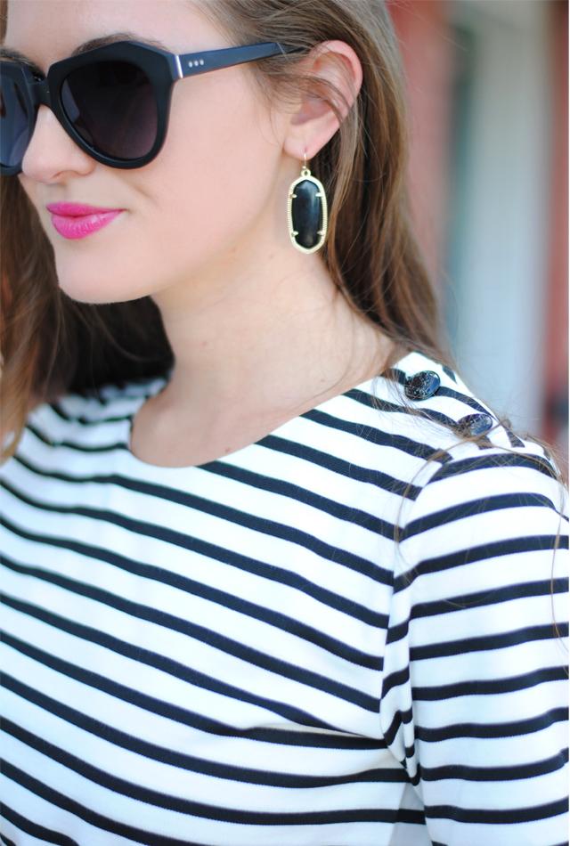 Elle Gold Drop Earrings In Cobalt Blue Kendra Scott