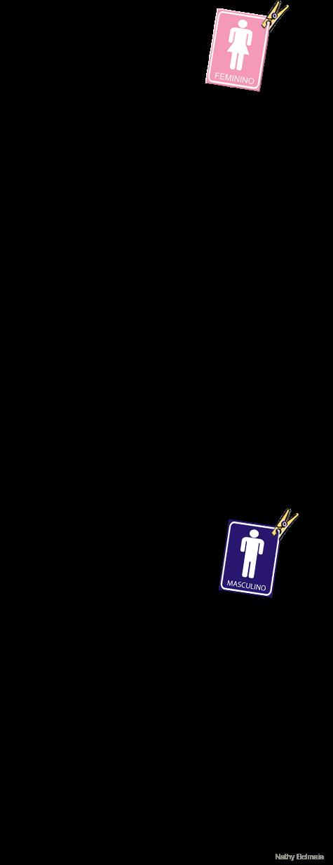 Banheiro caixinha, kit ressaca, plaquinhas… (casamento e outras festas!)  P -> Banheiro Feminino Texto