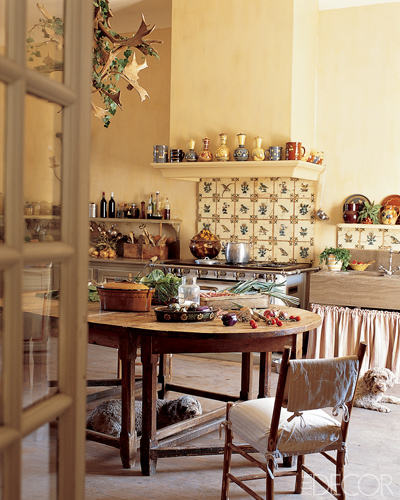 French Country Kitchen Accessories: Décor De Provence: Rustic Kitchen