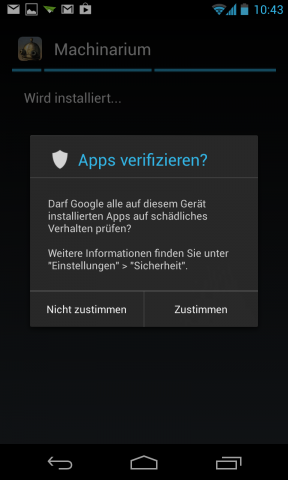 android 4.2 scanner malware apps