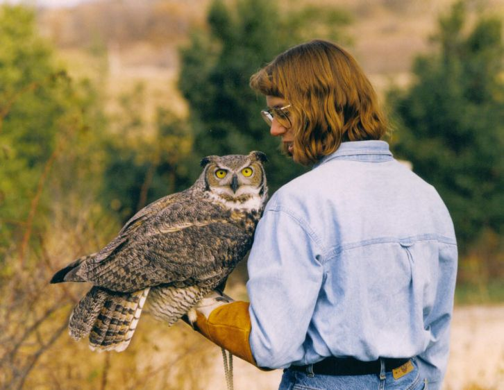 Alice, Rusty, Iris and the International Owl Center Blog