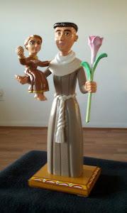 San Antonio y el Nino Jesus