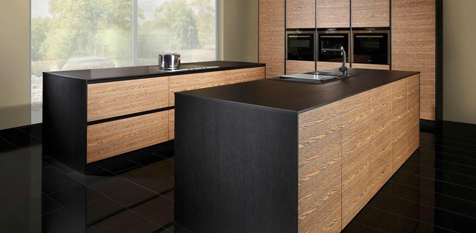 La madera en la cocina de vanguardia cocinas con estilo - Cocinas de madera modernas ...