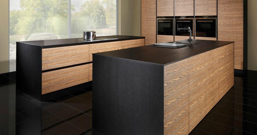 La madera en la cocina de vanguardia cocinas con estilo for Muebles de vanguardia