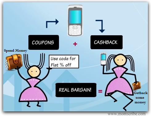 cashback bargain coupon