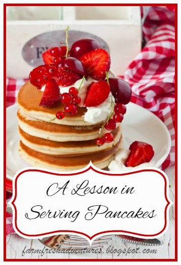 A Lesson In Serving Pancakes