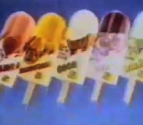 Propaganda dos Sorvetes Kibon em homenagem ao verão do começo dos anos 90.