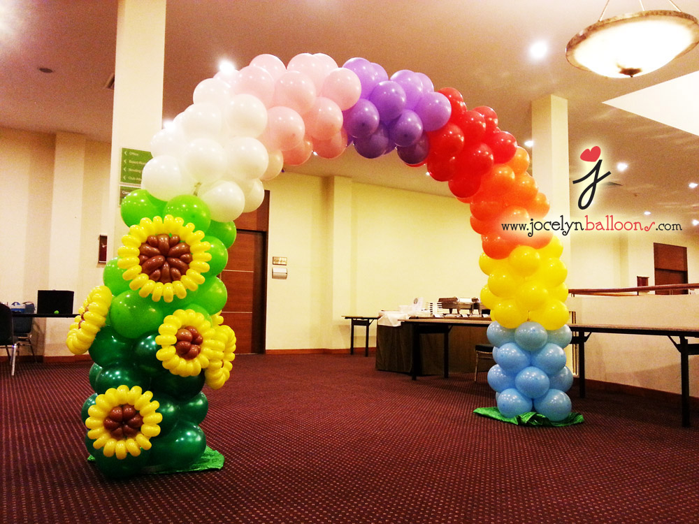 Jocelyn ng professional balloon artist blog balloon for Balloon arch decoration ideas
