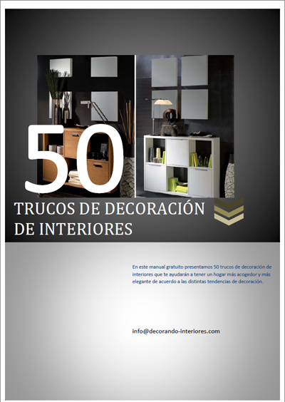 Descarga gratis el libro 50 trucos de decoraci n de interiores decorando interiores - Curso gratis decoracion de interiores ...