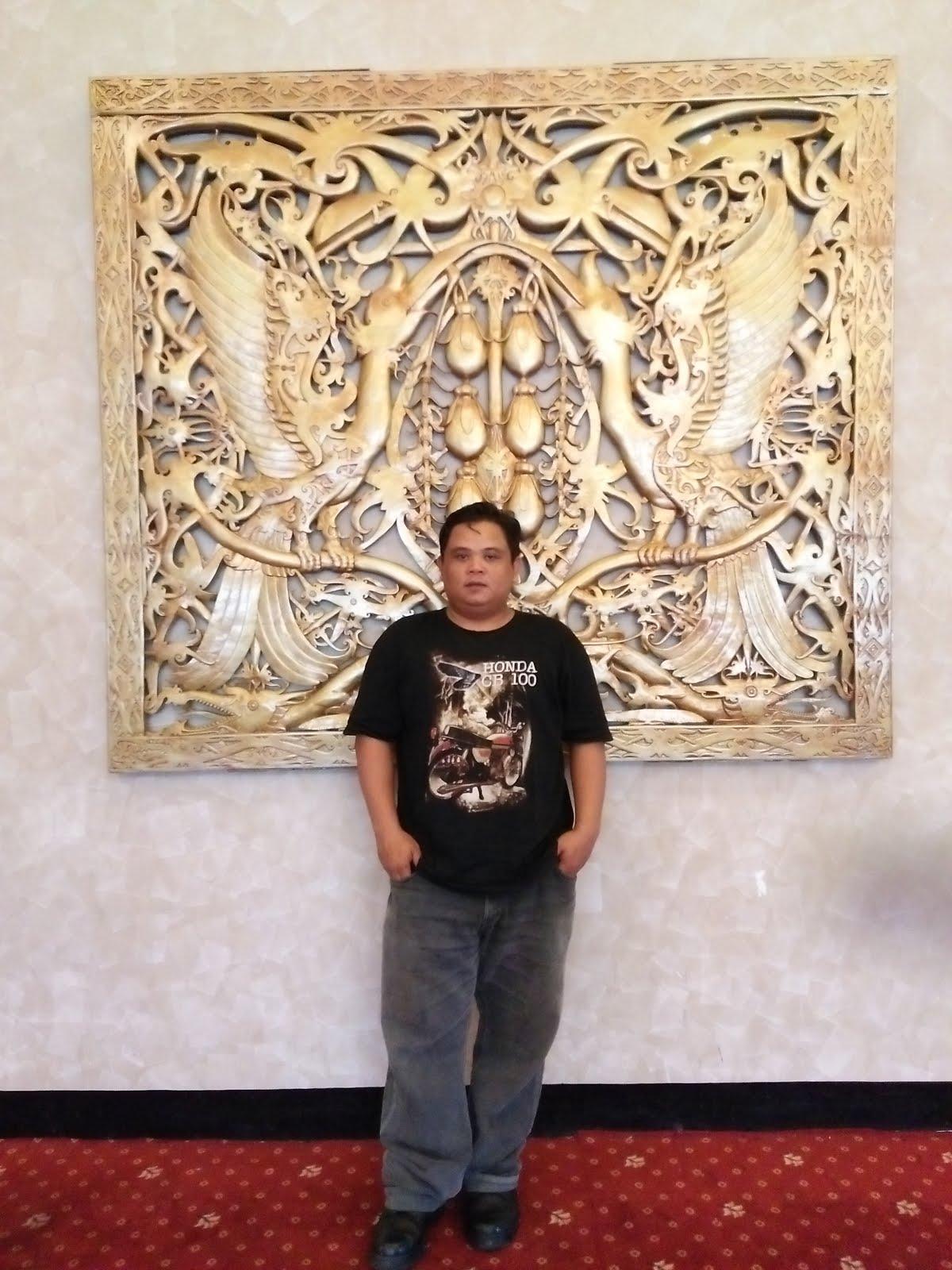 Selfi di Istana Rakyat Kalbar