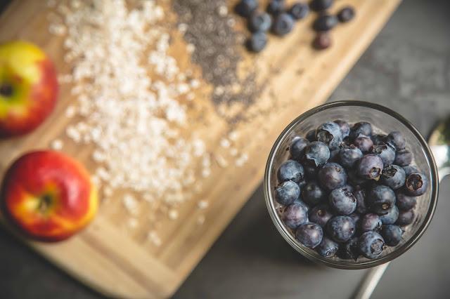Bircher Müsli mit Heidelbeeren Rezept