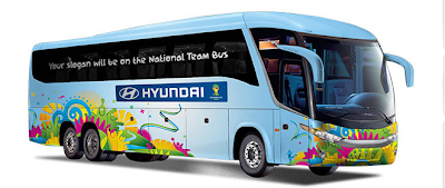 """Concurso """"Be There With Hyundai"""""""