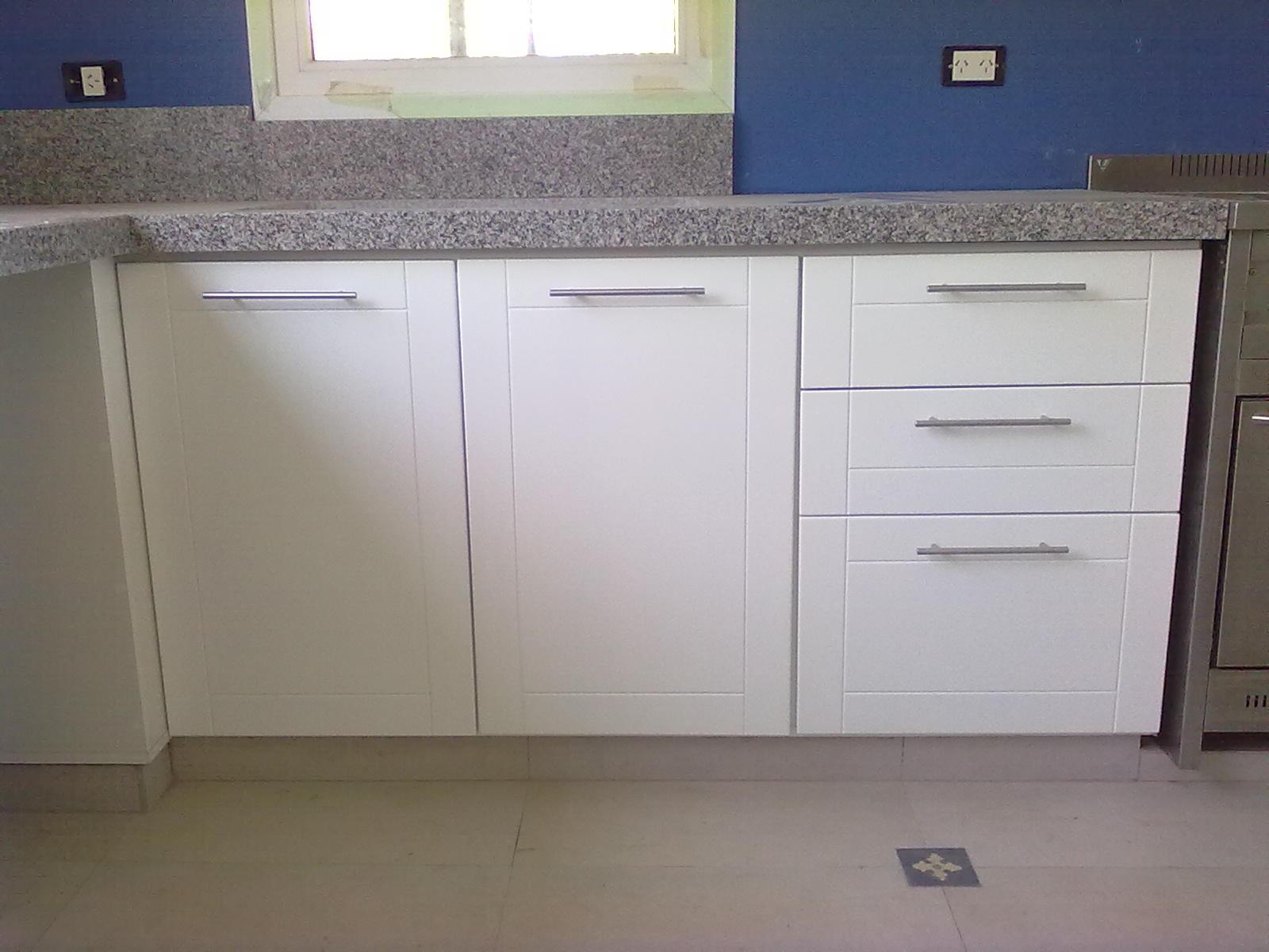 Muebles de cocina blanco envejecido ideas - Disenar muebles a medida ...