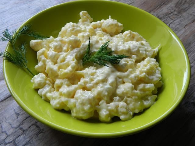 Salata de conopida cu maioneza