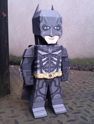The Dark Knight Rises Batman Papercraft