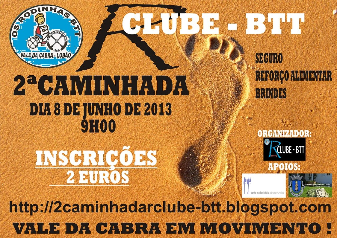 2ª CAMINHADA R CLUBE - BTT