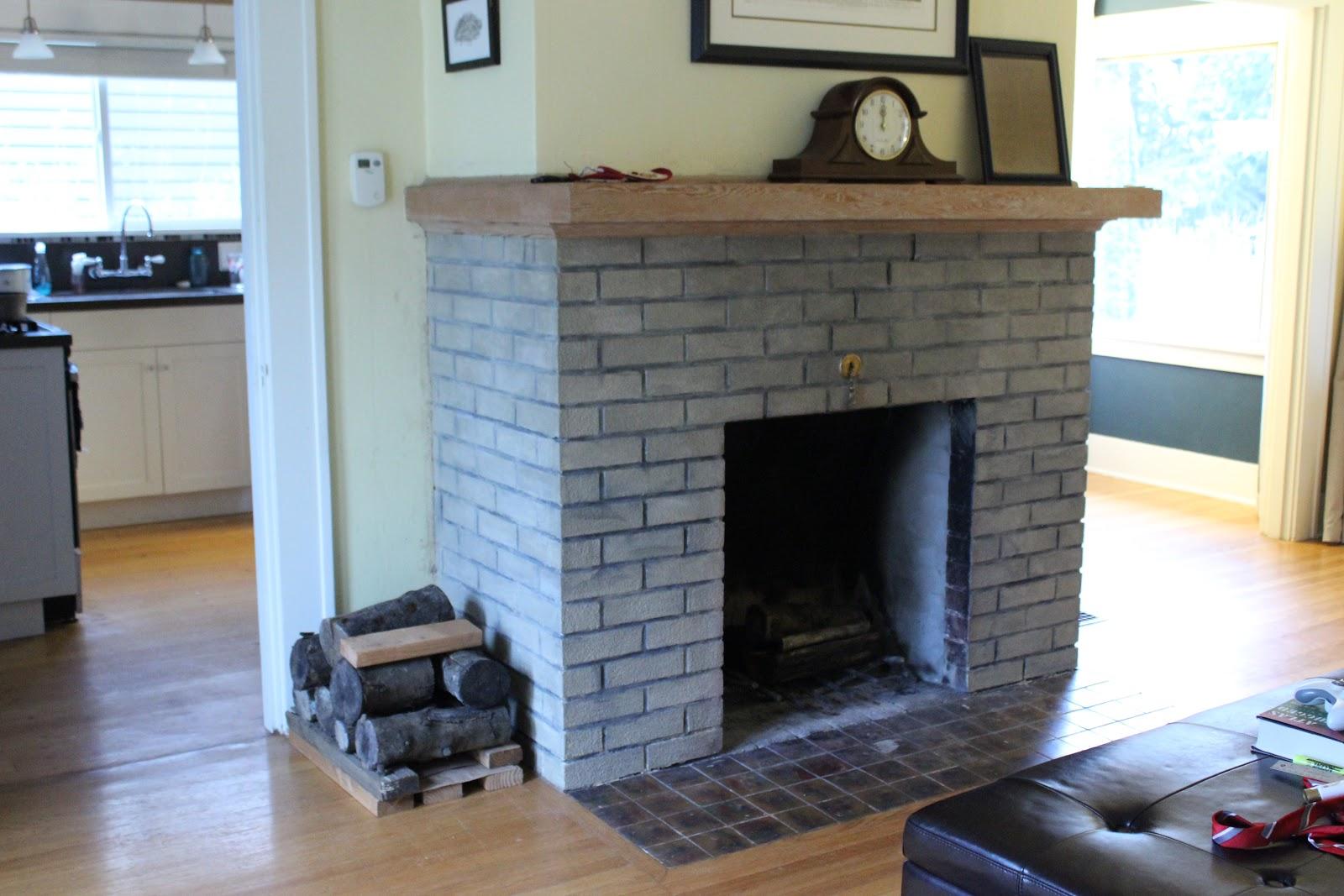 northeast portland bungalow fireplace reveal