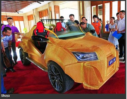 China cetak kereta pertama kos RM6 300