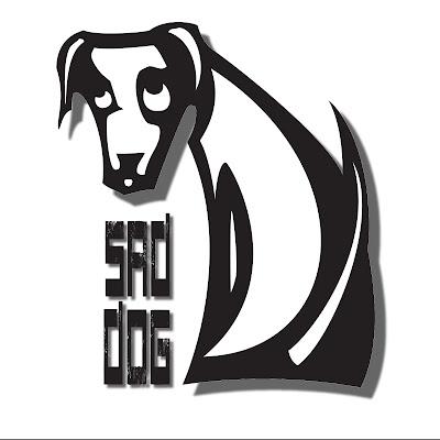 il nuovo logo Sad Dog Project: un cane stilizzato con la scritta Sad Dog