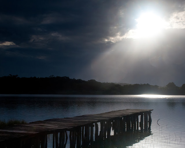 Laguna Petenchel - Lake near La Ponderosa, Petén
