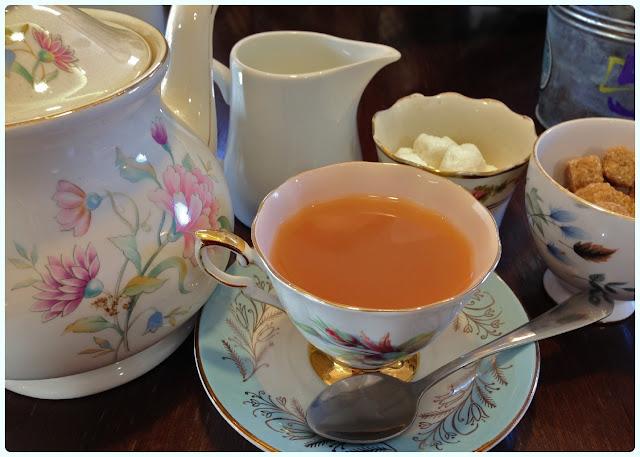 Delicieux, Bolton - Tea