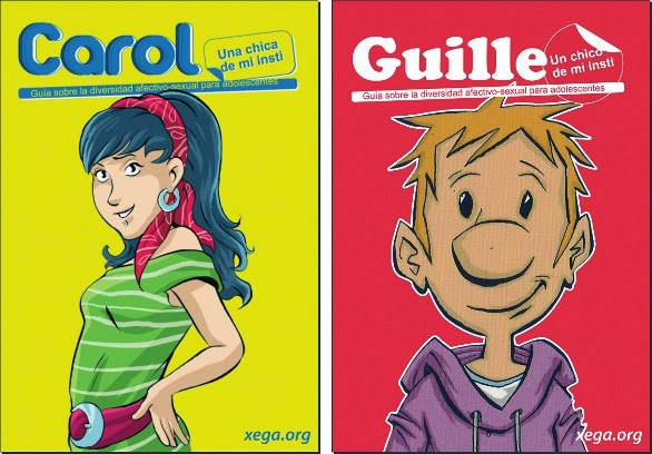 Carol y Guille van a mi instituto.