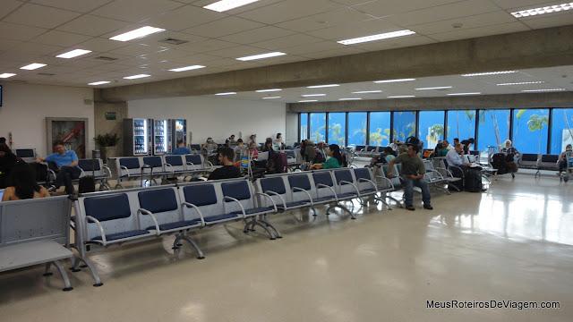 Lounge do Terminal 1 - Aeroporto de Guarulhos