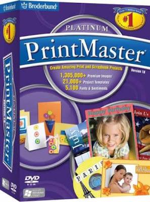 Broderbund PrintMaster® Platinum Pro 18 DVD