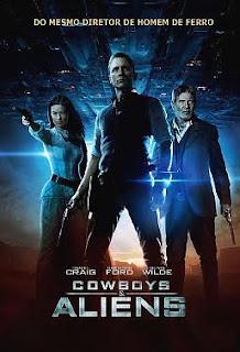 Filme Poster Cowboys & Aliens PPVRip XviD Dual Audio & RMVB Dublado