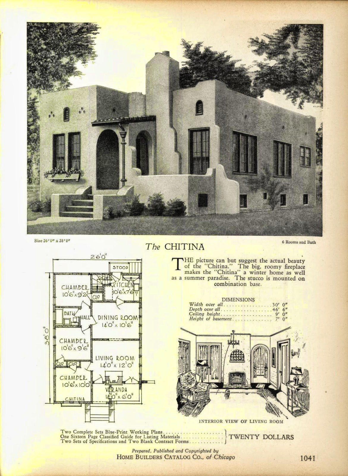 More Art Deco House Plans Art Deco Resource