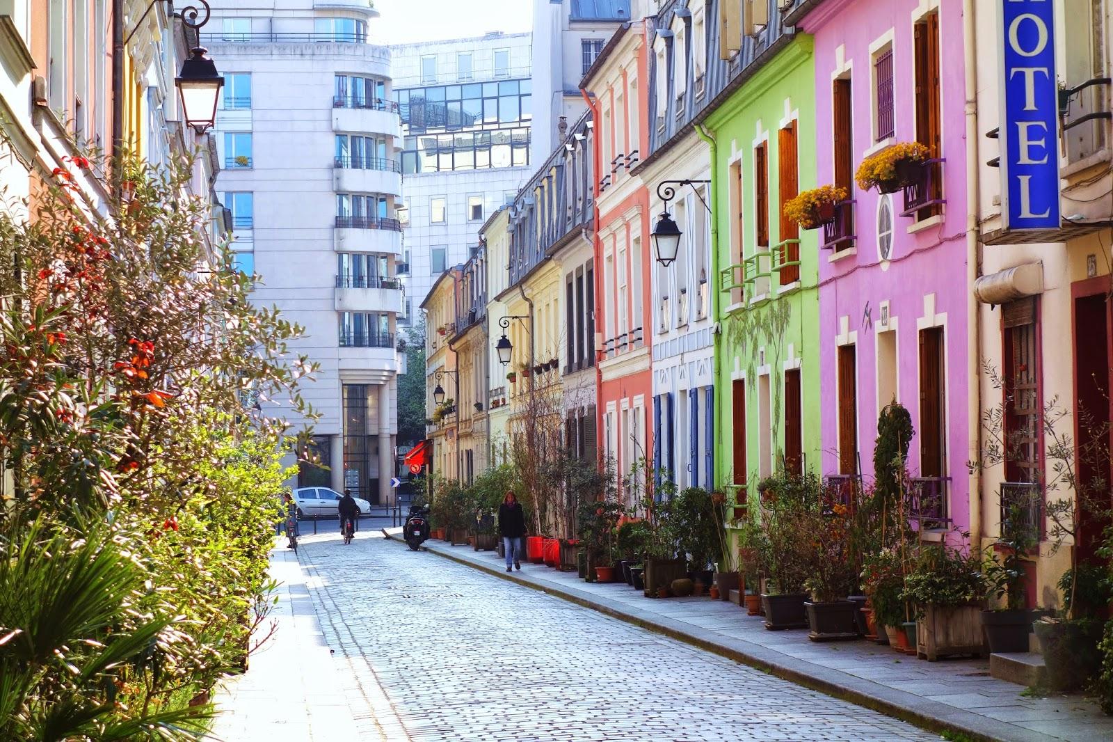 Paris Rue Cr 233 Mieux Promenade Printani 232 Re Xii 232 Me Paris La Douce