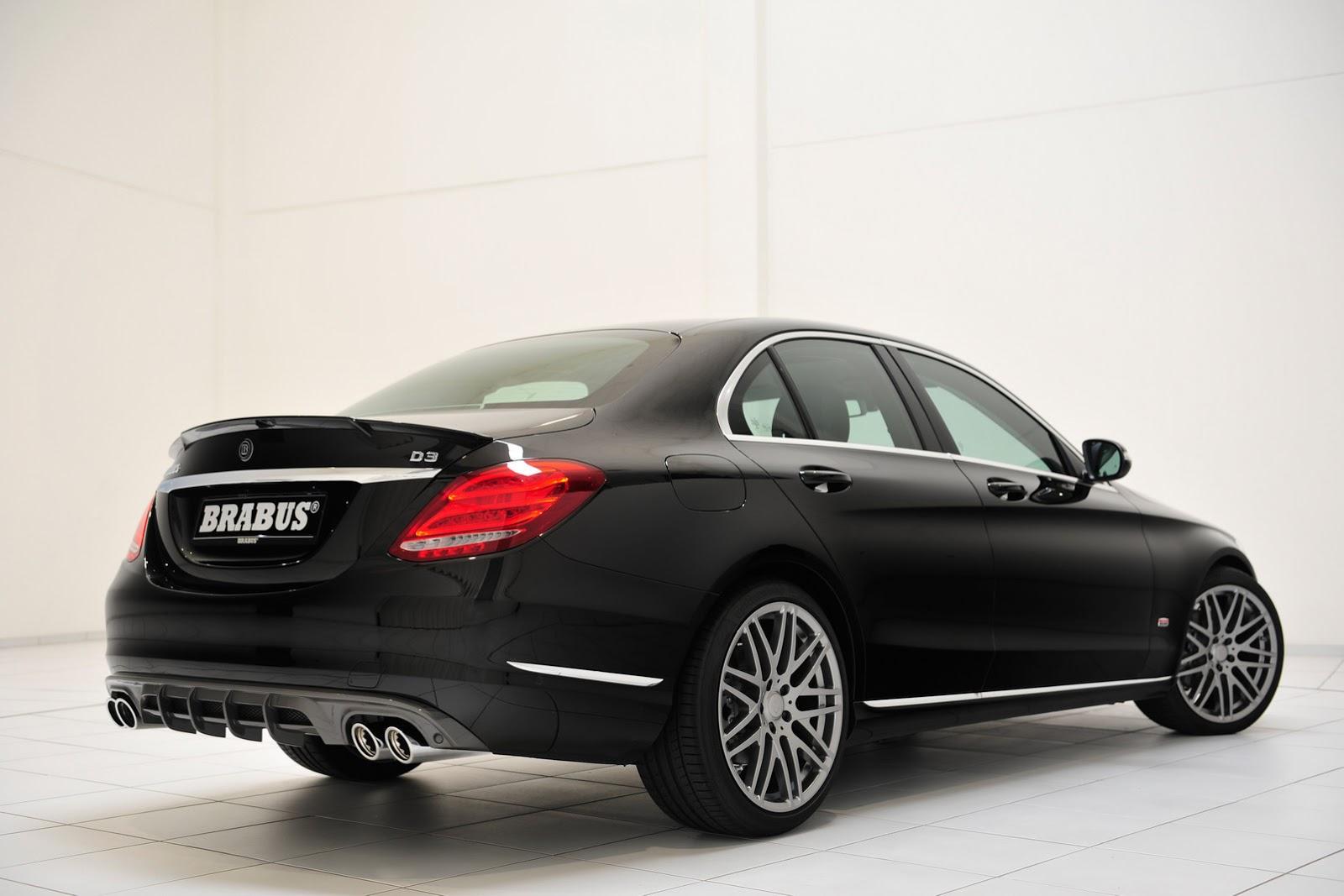 Brabus Tunes Into New 2015 Mercedes Benz C Class W205 41