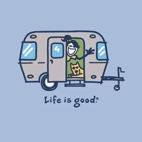 Life Is Good Classic Happy Hour Crusher Tee Mens, Heather Gray, Medium, M.