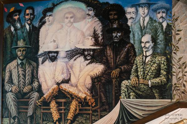 Murales de octavio ocampo en celaya paty aranda photography for Emiliano zapata mural