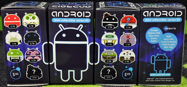 Cajas Android Mini Colleccionable Serie 3