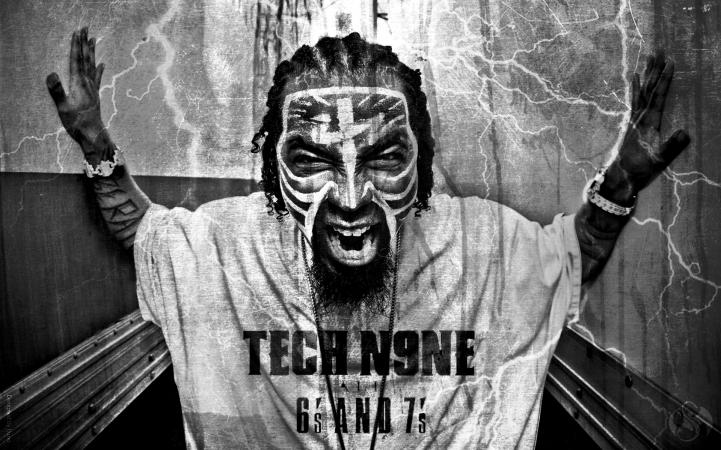 Tech N9ne Wallpaper Amazing Underground Rapper Wallpapers