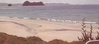 Hahei playa bellísima de Nueva Zelanda