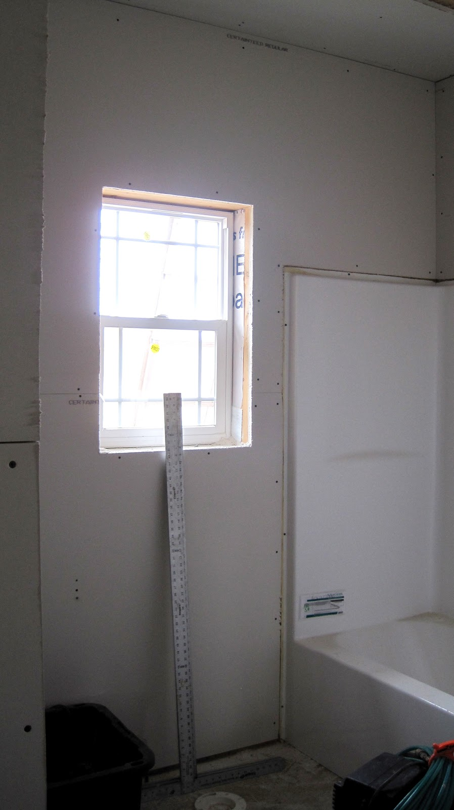 Bathroom drywall 28 images can i put sheetrock above a for Drywall or cement board for shower