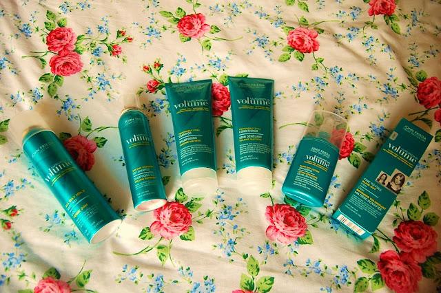John Frieda Luxurious Volume Hair Care Range