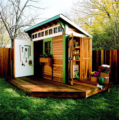 Micro shed alicious these seven little Tiny house in backyard