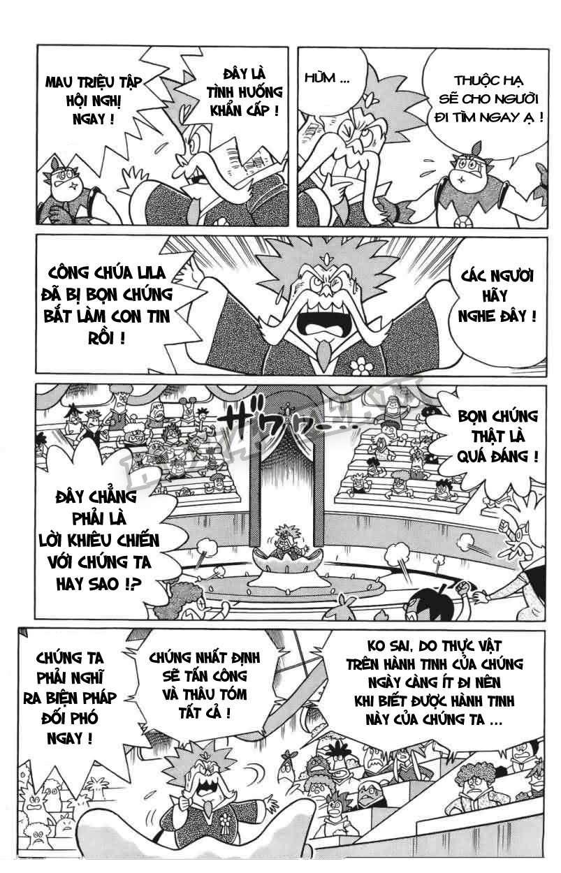 Truyện tranh Doraemon Dài Tập 25 - Nobita và truyền thuyết thần rừng trang 112