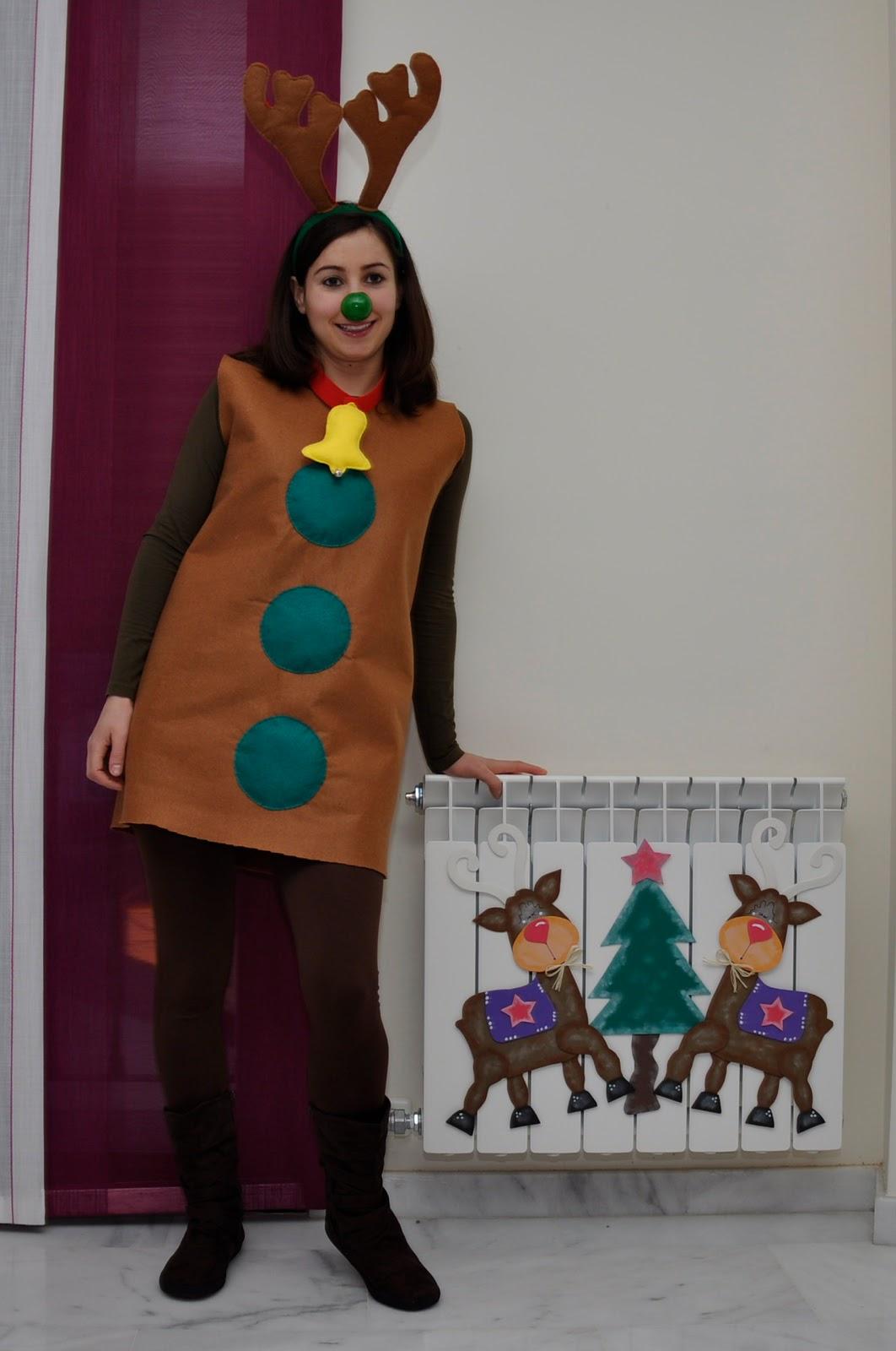 La cajita de eli disfraz de reno para navidad - Disfraz de reno nina ...