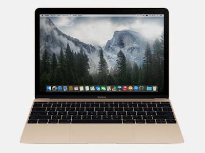 MacBook de 12 polegadas é o notebook mais fino e mais leve já feito pela Apple