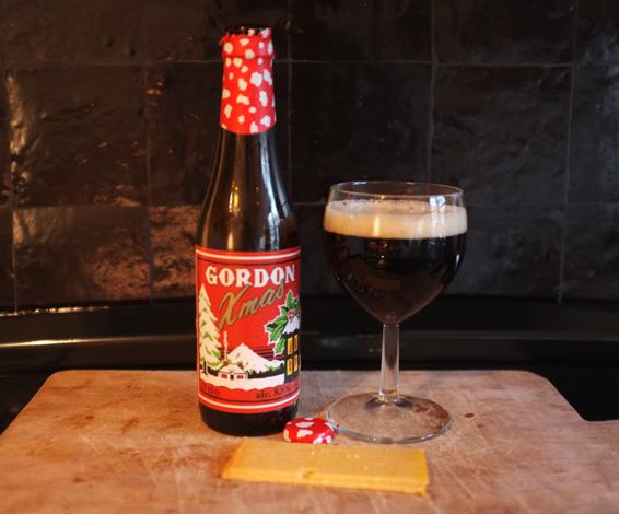 Бельгийское рождественское пиво gordon xmas