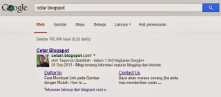 Cara Mendapatkan Google Sitelinks dengan Mudah