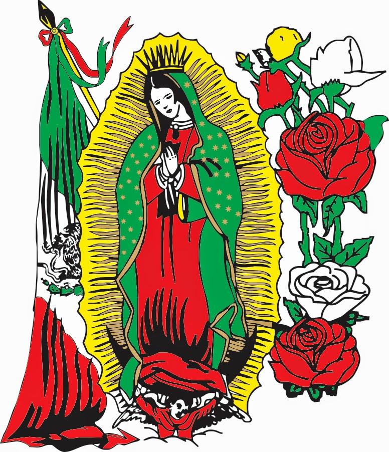How To Draw La Virgen De Guadalupe | Search Results | Calendar 2015
