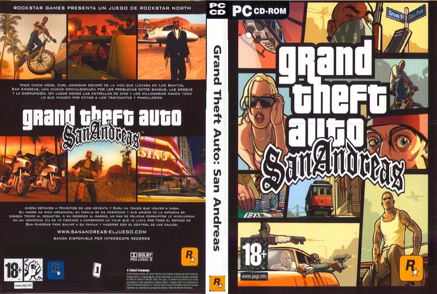 Download Game GTA–San Andreas RIP Full Version
